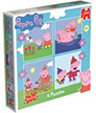 [UK-Import]Peppa Pig 4-in-1 Jigsaw Puzzles