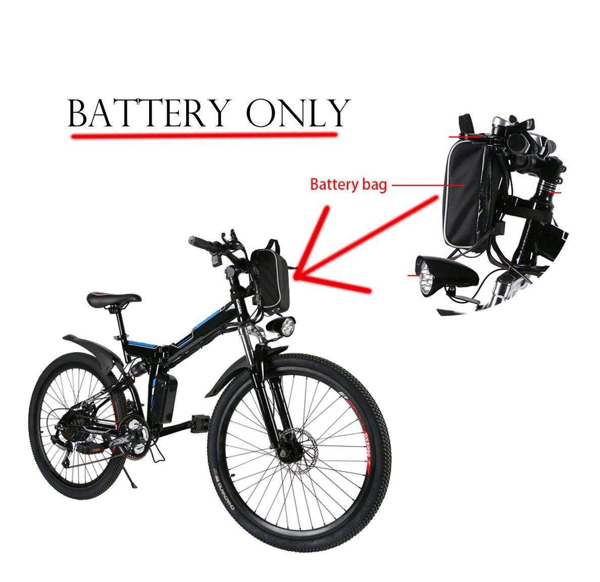 AIMADO 1 Bateria de Recambio para Bicicletas Electricas de Montaña ...