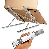 ChFS Soporte Aluminio Portátil para Laptop, Base Ajustable para iPad, Macbook Pro, Netbook, y Otras Tabletas y…