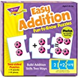 TREND enterprises, Inc. Easy Addition Fun-to-Know Puzzles