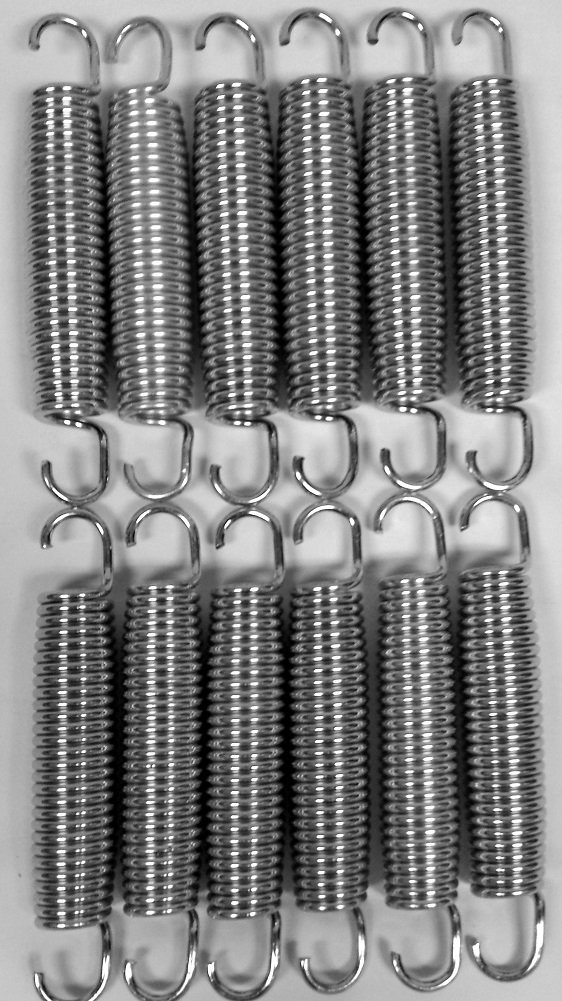 BouncePro 5.5'' Replacement Springs, Silver 12 (Count)