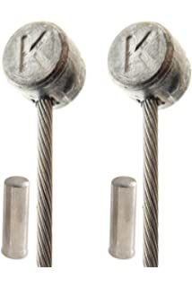 Cycle or Bicycle Gear Cable Inners Galvanised - Bike Twin Pack 1.2mm x 2.20m tm BDBikes