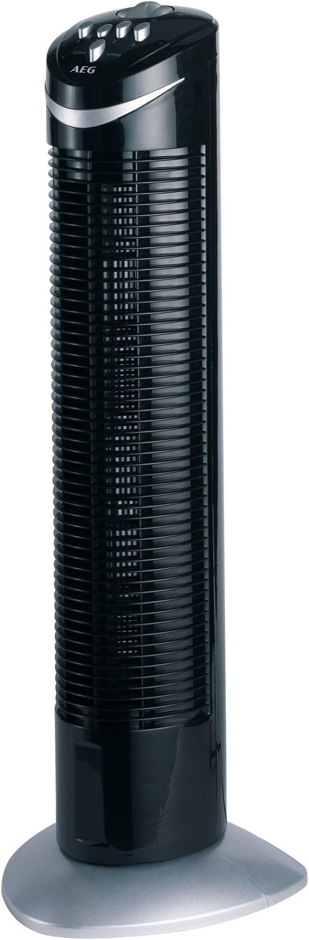 AEG T-VL 5531 - Ventilador de torre, 3 velocidades, temporizador ...