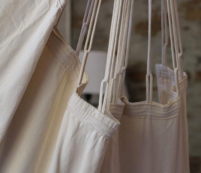 Amalyssa - Chaise Hamac Natural Ecru - Toile Résistante - Confort ...
