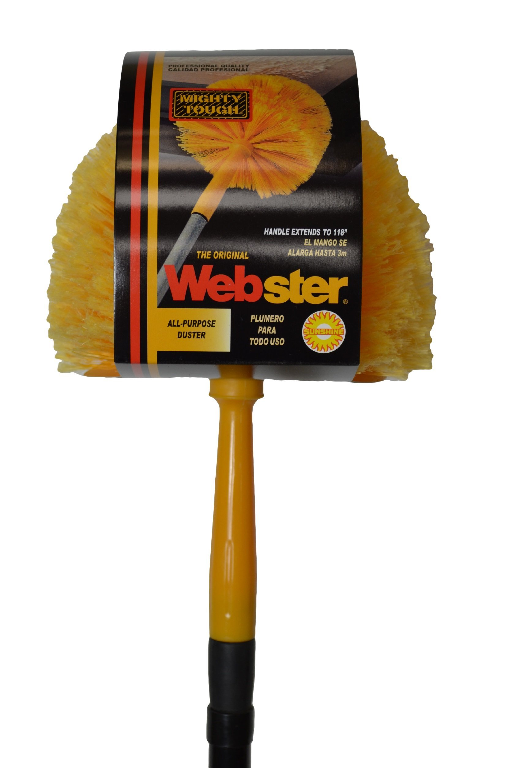 Starmax Mighty Tough Cob Web Duster with 118'' Extension Handle, Pack of 6, 195-50 by Starmax