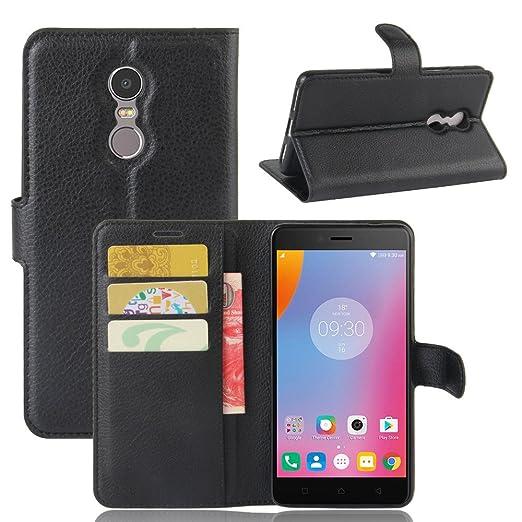 2 opinioni per VIFLYKOO Custodia Lenovo K6 Note Case, Lenovo K6 Note Flip Cover in Pelle PU