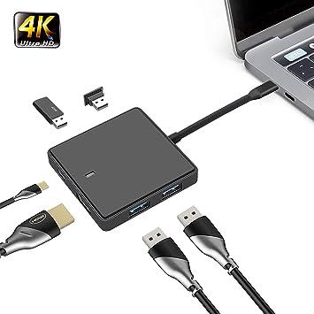 Adaptador USB-C HDMI para Nintendo Switch, NiaoChao 3 en 1 Tipo C ...