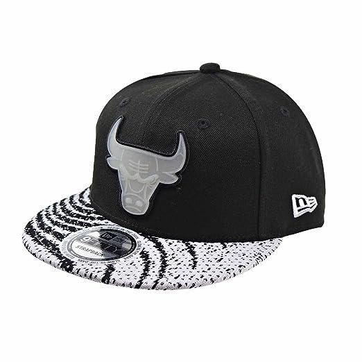 baf1ac4c2da New Era Chicago Bulls Boost Redux Yeezy Men s Strapback Hat Cap Black White  11520253 (