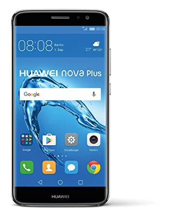 Huawei Nova Plus 32gb Dual Sim Ohne Vertrag Grey Amazonde Elektronik