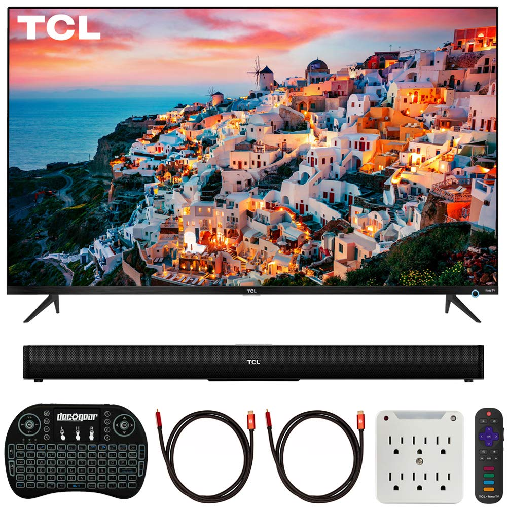 TCL 55-inch 5-Series Roku Smart HDR 4K UHD TV