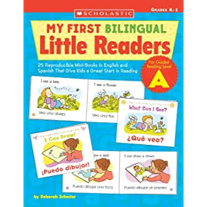 My First Bilingual Little Readers: Level A: 25 Reproducible Mini-Books in English