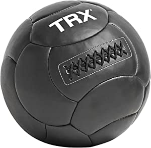 TRX Training Handcrafted Wall Ball with Reinforced Seam Construction, 18 Pounds (8.2 kg)