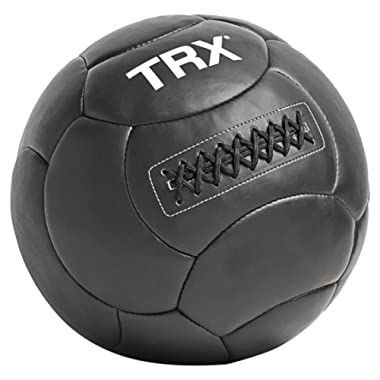 TRX Training Handcrafted Wall Ball with Reinforced Seam Construction