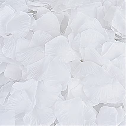 Amazon rose petals cozyswan 4000pcs silk artificial fabric rose petals cozyswan 4000pcs silk artificial fabric flower for valentine ceremony wedding or home hotel mightylinksfo