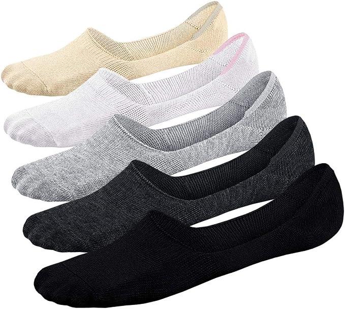 6-12 Paar Damen Socken Füßlinge Sneaker Footies Schwarz Weiß Grau Haut Sommer