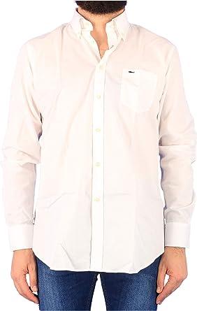 PAUL&SHARK - Camisa blanca para hombre, modelo COP3001 010, color blanco: Amazon.es: Ropa y accesorios