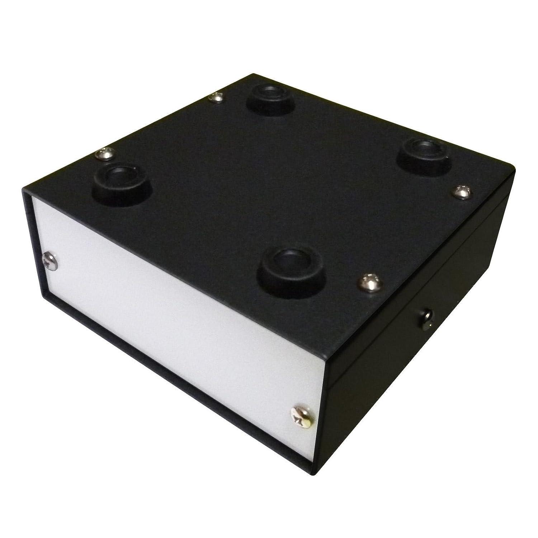 Caja de aluminio para proyectos de escritorio, 100 x 100 x 40 mm ...
