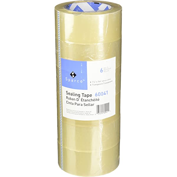 12x ROLLS OF BROWN PACKING PARCEL PACKAGING REMOVAL TAPE 48mm x 50M SELLOTAPE
