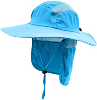 03e27ab90 Amazon.com: Home Prefer Kids Fishing Hat with Neck Protection ...