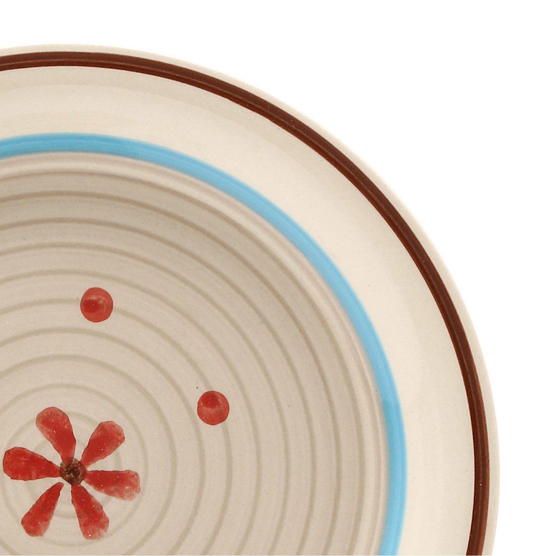 Set piatti lily di kasanova, 18 pezzi: amazon.it: casa e cucina