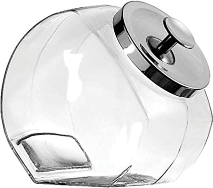 Set of 6 Anchor Hocking Glass Mini 3.4 Ounce Penny Spice Jar
