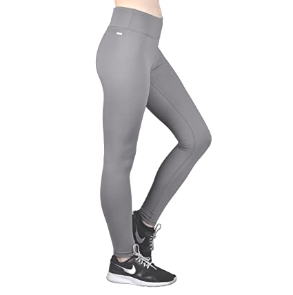 5f724547c8b2dd Dynamic Athletica Compression Workout Leggings - Workout Clothes and Yoga  Pants (Small, Grey)