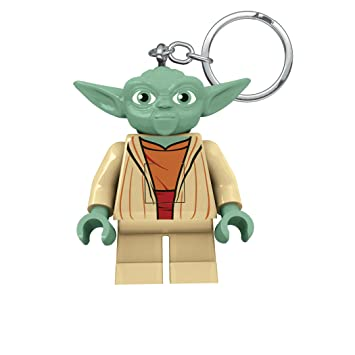 amazoncom lego star wars yoda led keychain flashlight toys games - Lego Yoda