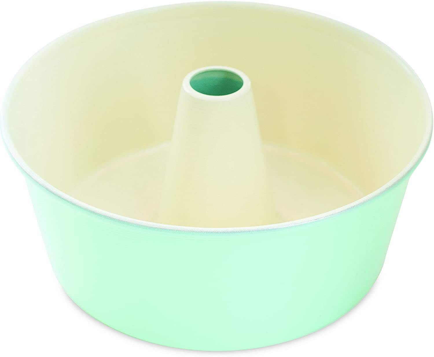 Nordic Ware 12-Cup Angel Food Cake Pan, Mint
