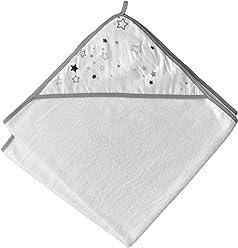 Kapuzenhandtuch 100x100 cm f/ür Babys /& Kinder aus 100/% Bio-Baumwolle Pflegeleicht kuschelig weich und GOTS zertifiziert.