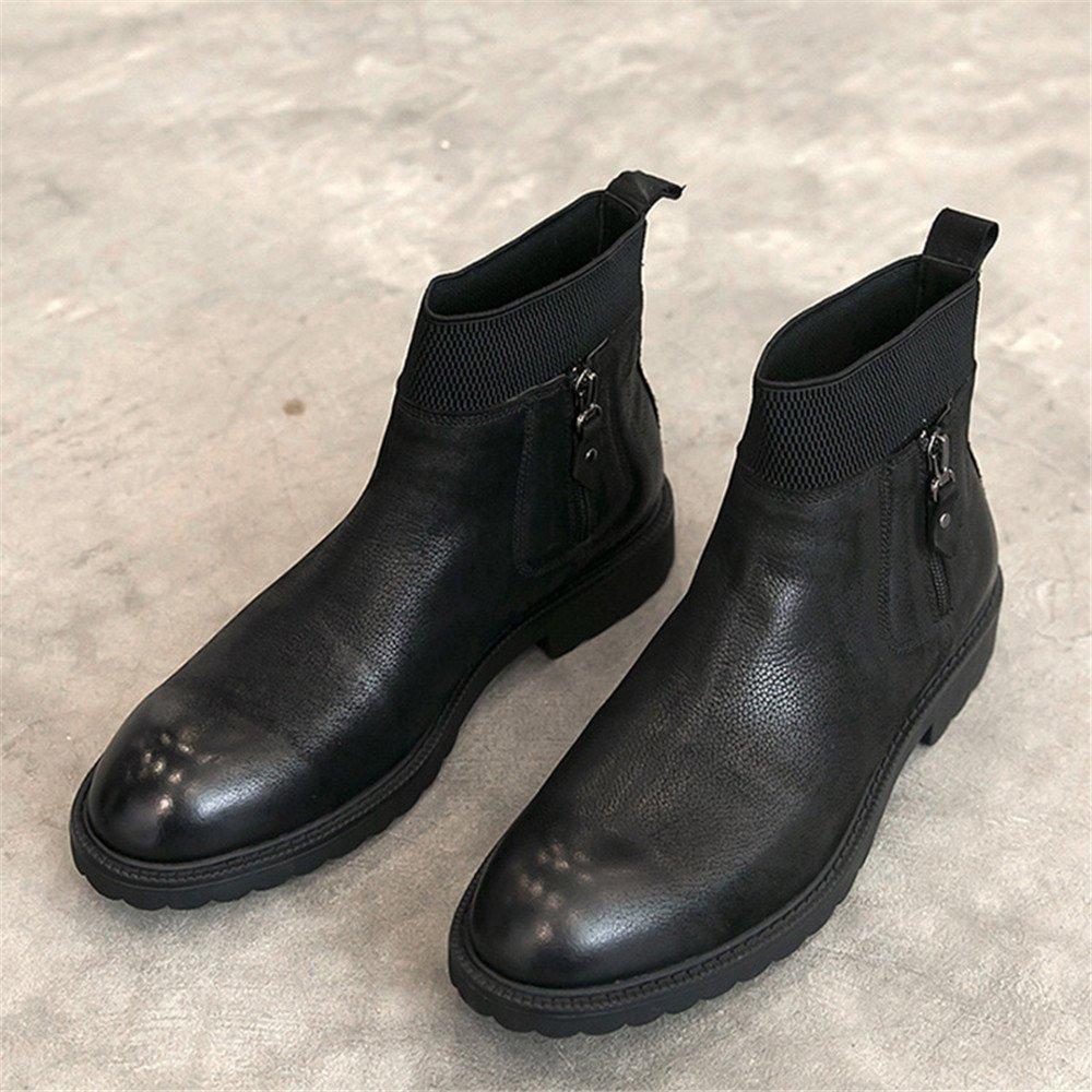 Männer freizeit - mode stiefel martin stiefel retro - chelsea chelsea chelsea - stiefel,schwarz,41 821f8c