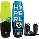 Hyperlite Baseline Blem Wakeboard Mens 136cm Bindings O/S 8-12