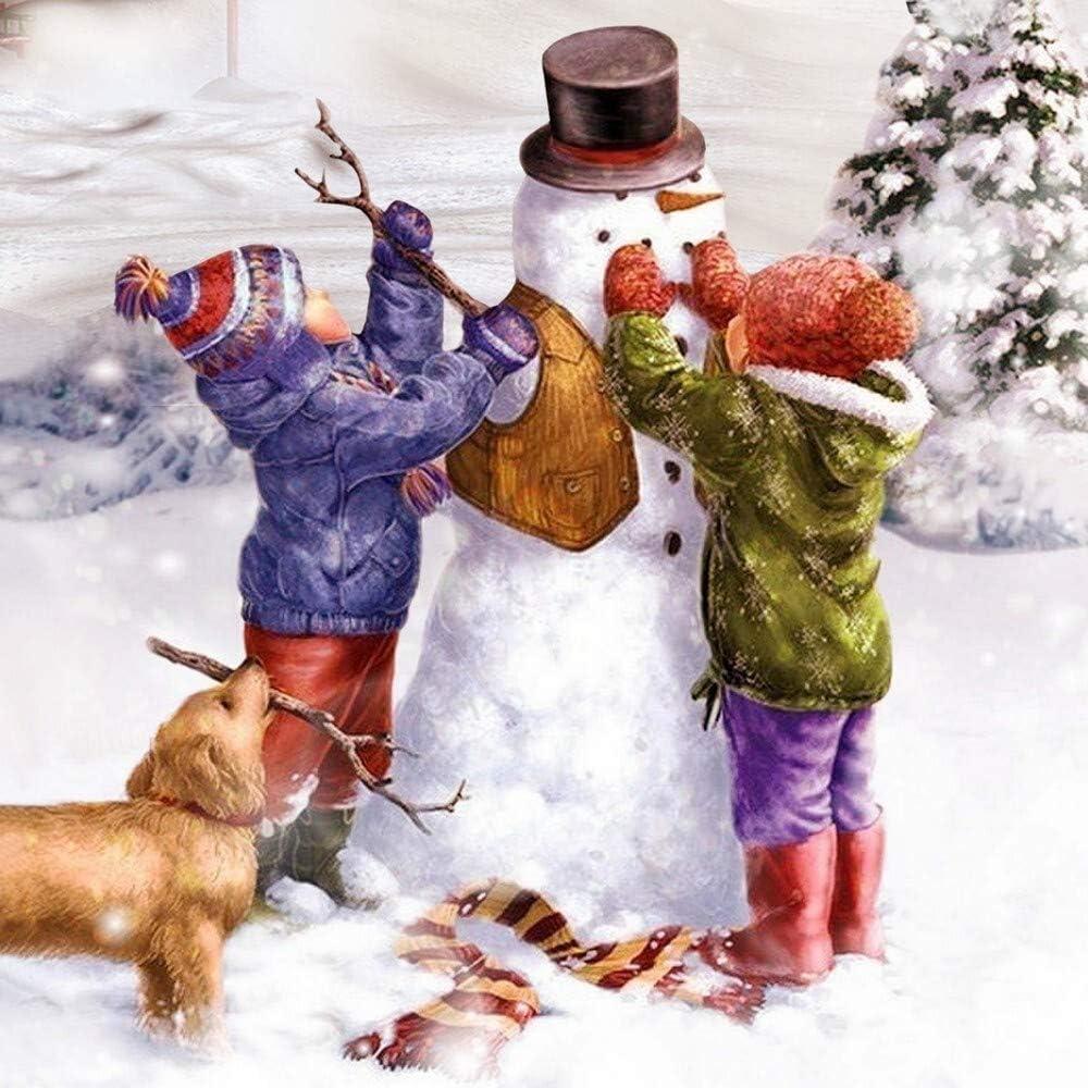 Weihnachten 33x33cm 20 Servietten Winter for us Tiere Schneemann Kinder