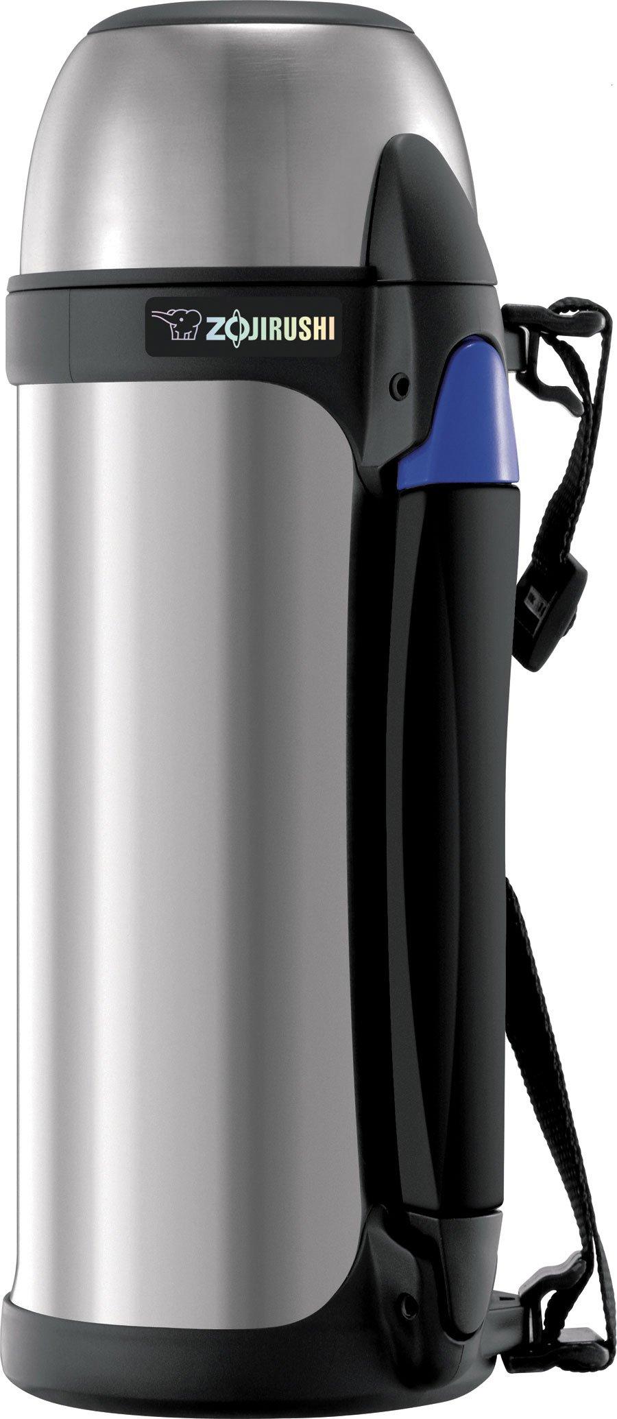 Zojirushi SJ-SHE10 Stainless Steel Tuff Sports Bottle, 32-Ounce