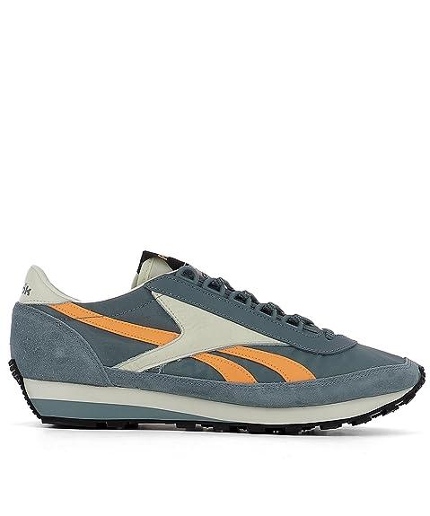 Reebok Hombre Bd3520aztecog Gris Tela Zapatillas: Amazon.es: Zapatos y complementos