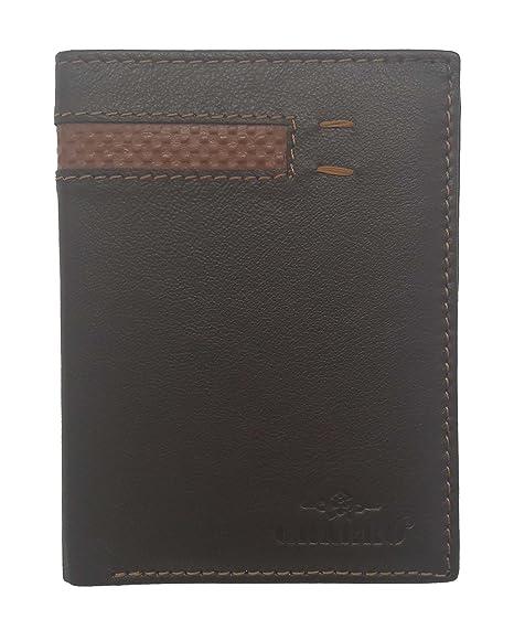 Cartera billetera de hombre con monedero exterior de ...