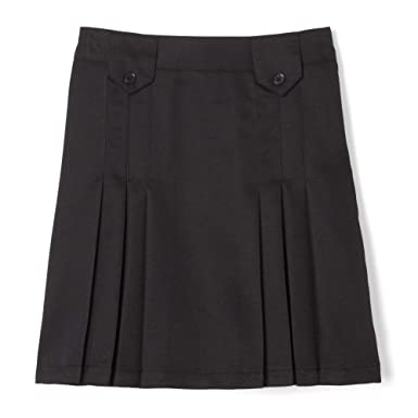 494f80dfd Amazon.com: French Toast Girls' Front Pleated Skirt with Tabs: Clothing