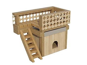 Fabulous DIY Plans Pläne zu Bauen Eine Hundehütte mit Ein Dach Deck: Amazon KO42
