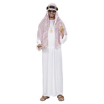 WIDMANN Árabe Sheik Traje Extra Grande para el Manchester City Vestido