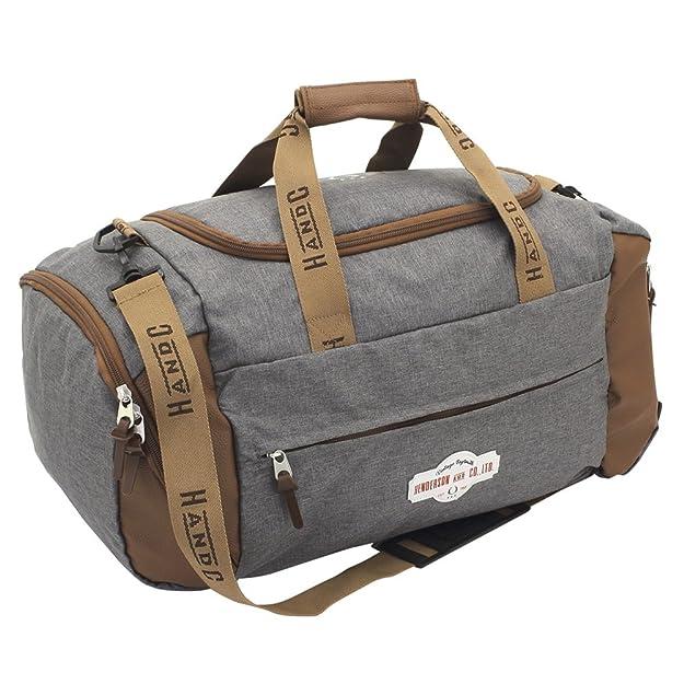F 23 Heritage Bolsa de viaje, 56 cm, 40 liters, Gris (Grau meliert): Amazon.es: Zapatos y complementos
