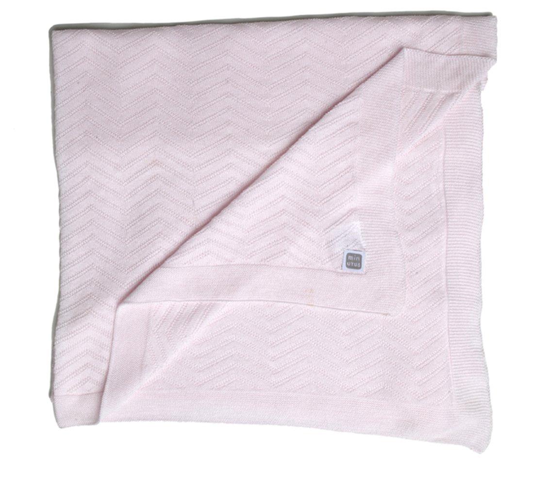Rose Minutus Couverture /Ét/é Coton 90 Cm Delta
