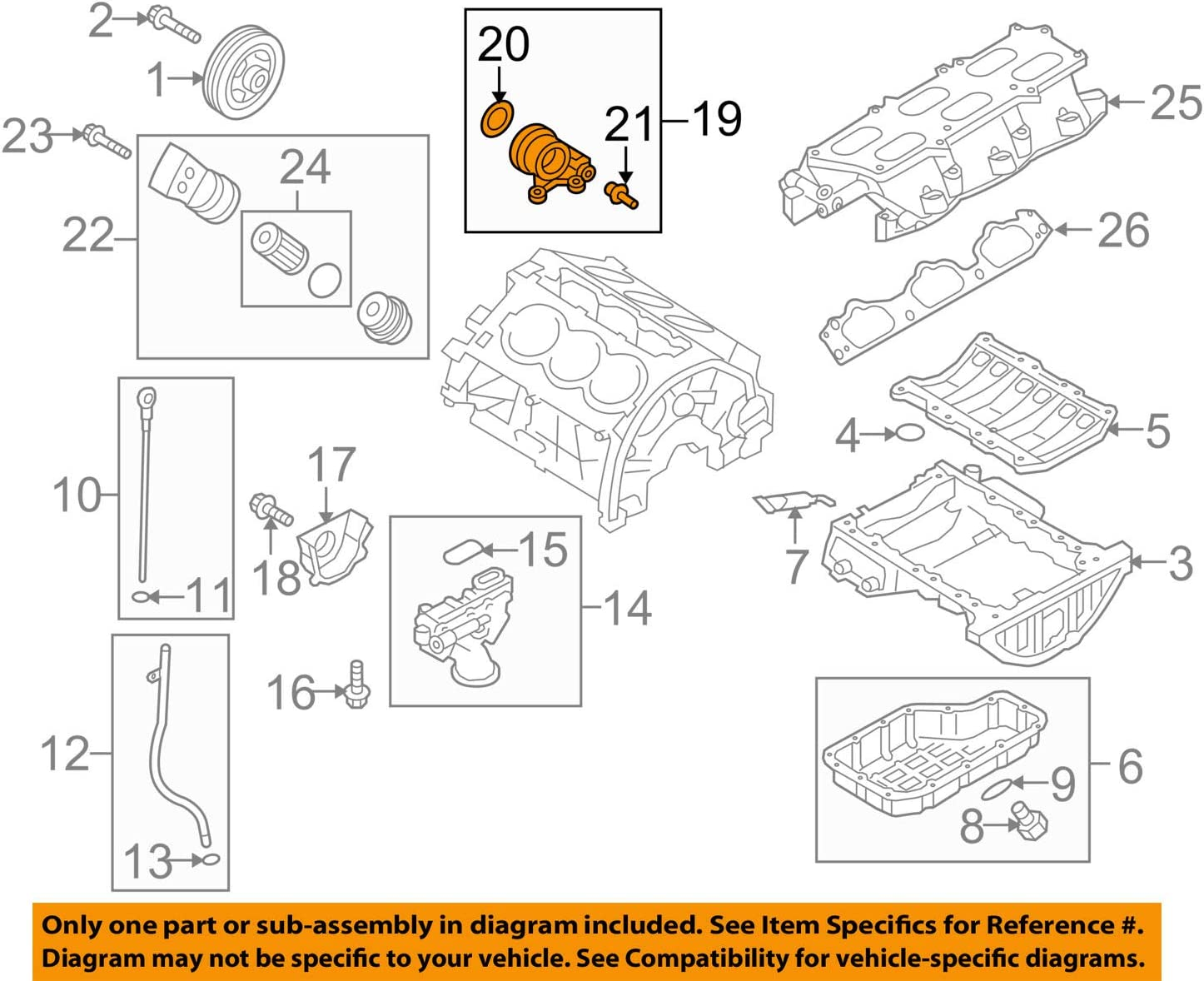 HYUNDAI OEM Genesis Coupe 3.8L-V6 Engine-Oil Filter Housing 211603C711, Oil  Filters & Accessories - Amazon CanadaAmazon.ca