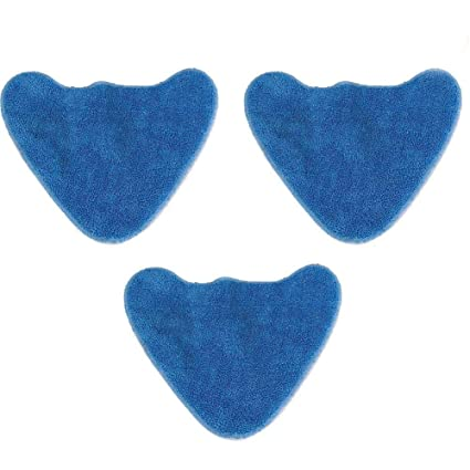Microfibre Cloth Pads x 4 to fit VAX S2// S2ST Hard// Bare Floor Steam Mop
