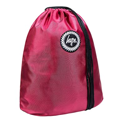 HYPE Crest Drawstring Bag Burgundy PE Bag - HYPE School Bag  Amazon.co.uk   Shoes   Bags 41940d4847dd1