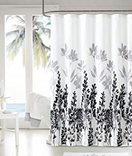 style lounge shower curtain. Royal Bath Shades of Grey Black and White Floral Embossed Microfiber Fabric Shower  Curtain 72 Amazon com Arabella by Style Lounge Coral