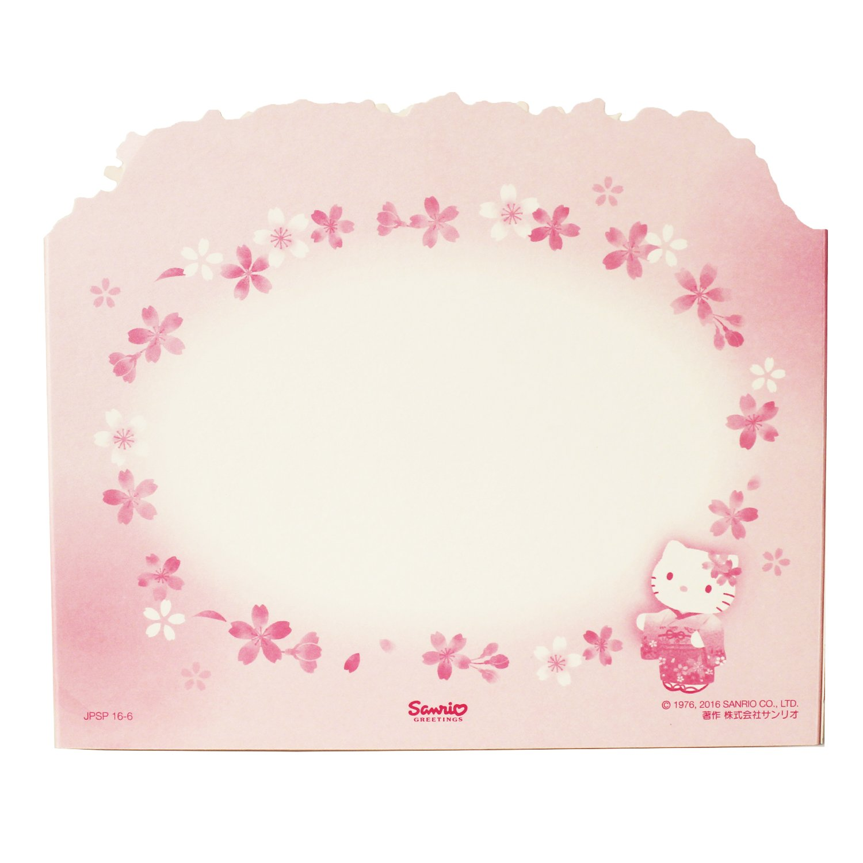 Amazon Hello Kitty Wcherry Blossom Pop Up Decorative Greeting
