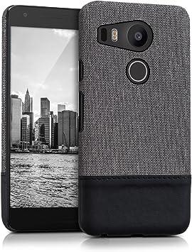 kwmobile1x Funda Trasera Dura Compatible con LG Google Nexus 5X ...