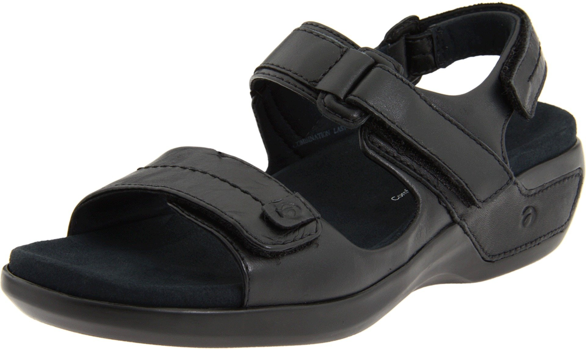 Aravon Womens Katy,Black Leather,11 M (B) US by Aravon