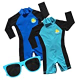 Swim with Me- SPF 50+ Sun Protection Swimsuit for