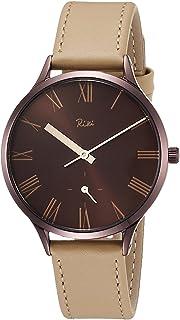 4784b4efc8 [リキ]ALBA 腕時計 RIKI パブリッククロック限定400本 シンプルモダン ローマフォント ラージ