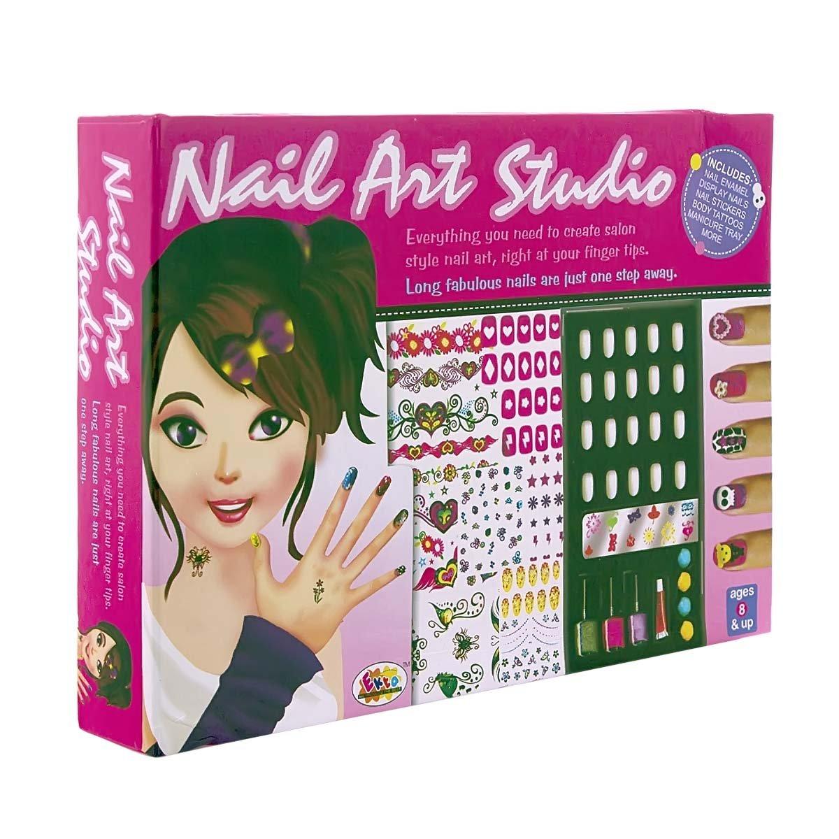 Ekta Nail Art Studio: Amazon.in: Toys & Games